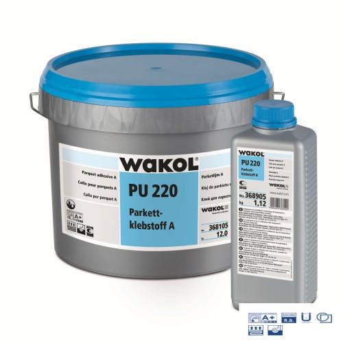 Клей Wakol PU 220 Для паркета 2-х компонентный 13.12 кг