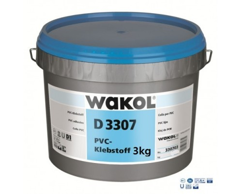 Клей Wakol D 3307 Для ПВХ покрытий 3 кг