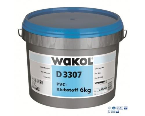 Клей Wakol D 3307 Для ПВХ покрытий 6 кг
