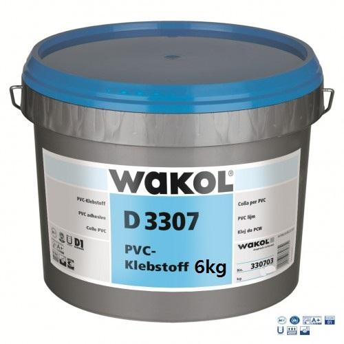 Клей для ПВХ-покрытий Wakol D 3307 6 кг