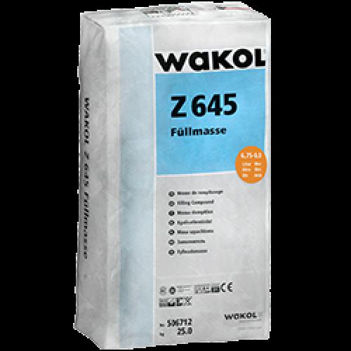 Ремонтная смесь (заполнитель) Wakol Z 645 заполнитель 25 кг