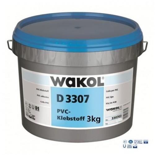 Клей для ПВХ-покрытий Wakol D 3307 3 кг