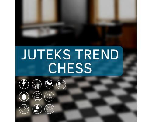 Линолеум Juteks Trend Chess