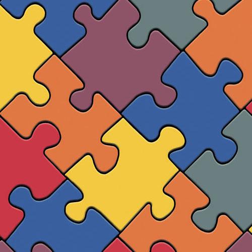 Линолеум IVC Bingo Classic Puzzle 50