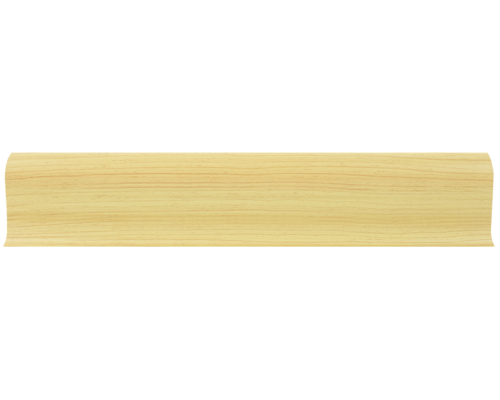 Плинтус 58мм с кабель каналом L006