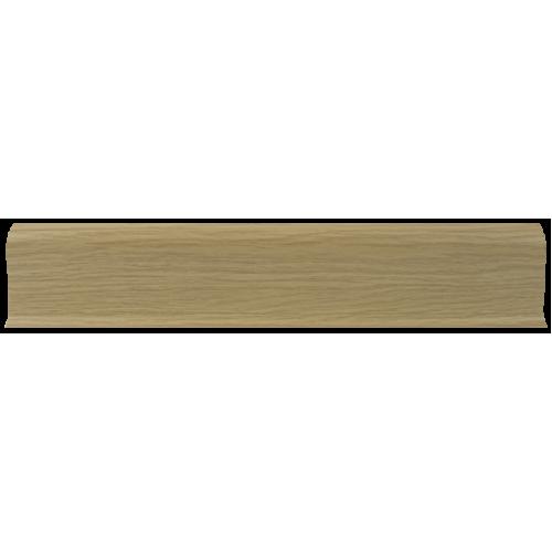 Плинтус 58мм с кабель каналом L011