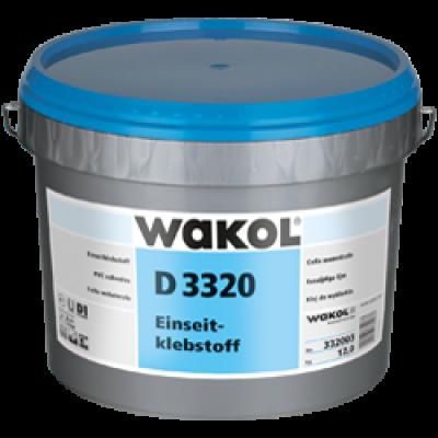 Клей Wakol D 3320 для ПВХ-покрытий 12 кг