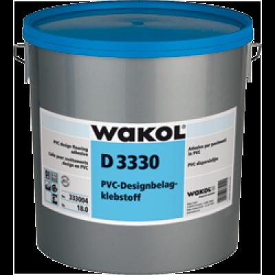 Клей Wakol D 3330 для дизайнерских ПВХ-покрытий (LVT) 3 кг