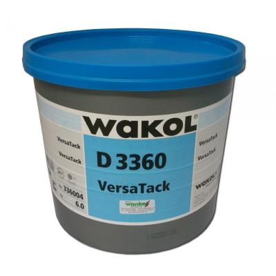 Клей Wakol D 3360 для ПВХ и текстильных покрытий (LVT) 6 кг