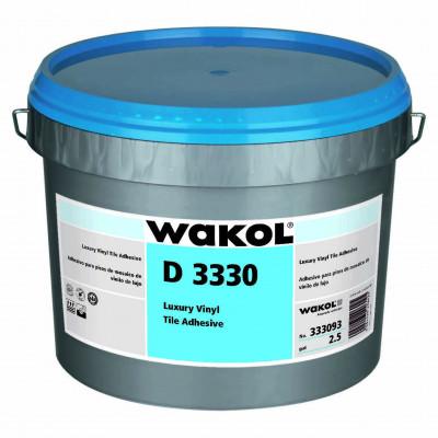 Клей Wakol D 3330 для дизайнерских ПВХ-покрытий (LVT) 10 кг