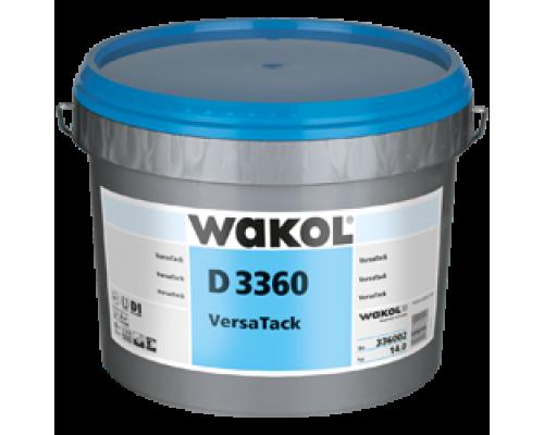 Клей для ПВХ-покрытий Wakol D 3360 14 кг