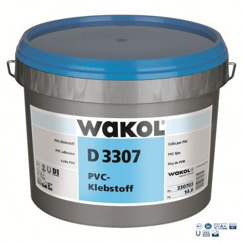 Клей Wakol D 3307 Для ПВХ покрытий 14 кг